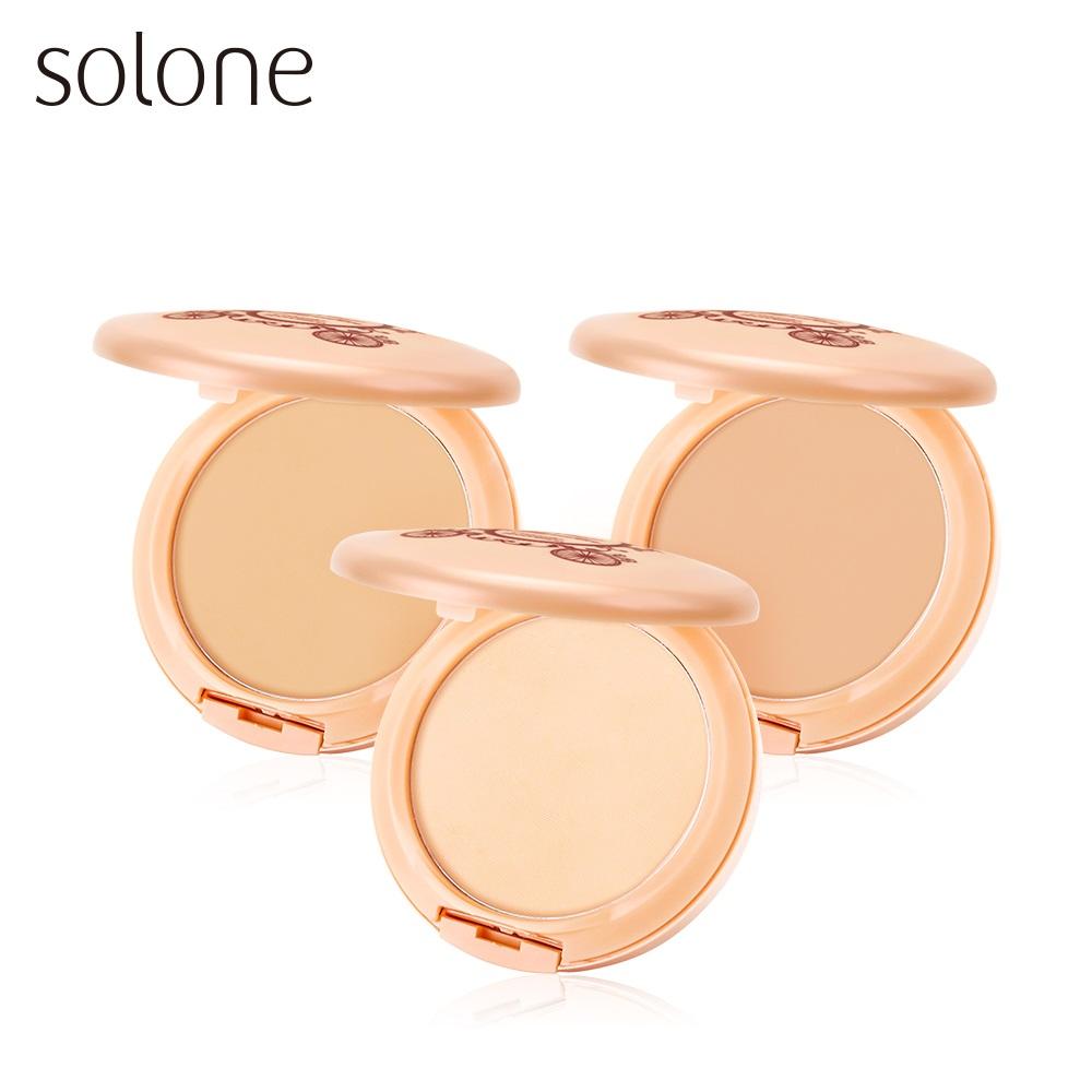 Solone 零妝感淨白保濕粉餅 (全新升級版)