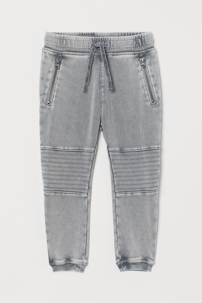 H & M - 騎士慢跑褲 - 灰色