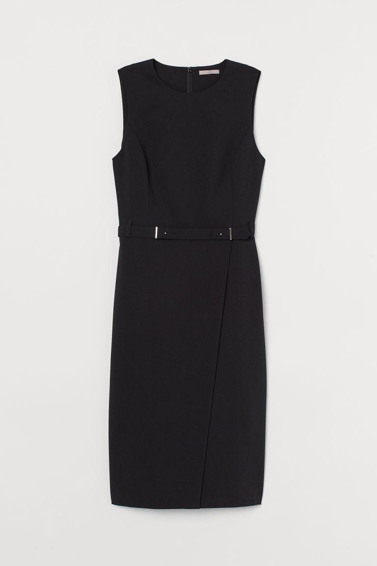 H & M - 修身洋裝 - 黑色