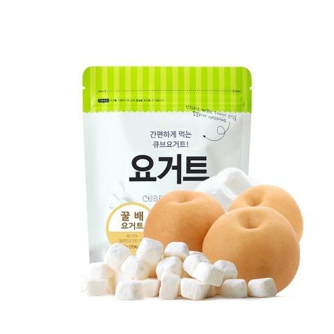 韓國米餅村 SSALGWAJA 乳酸菌優格球-梨子