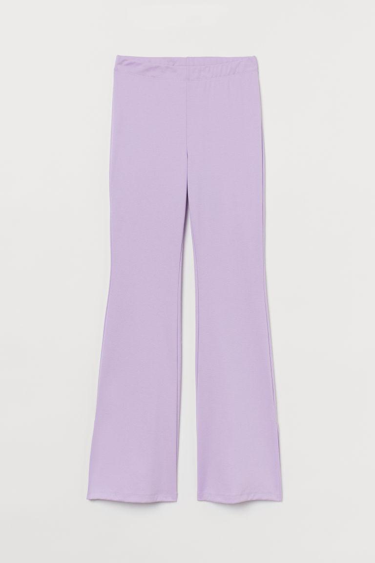 H & M - 爵士褲 - 紫色