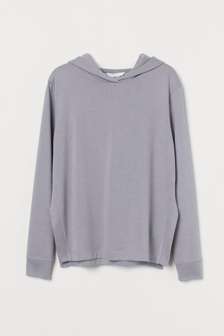 H & M - MAMA 孕婦/哺乳上衣 - 灰色