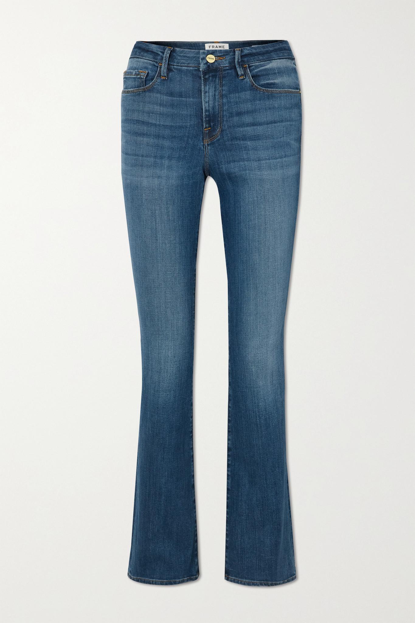 FRAME - Le Mini Boot Mid-rise Jeans - Blue - 30