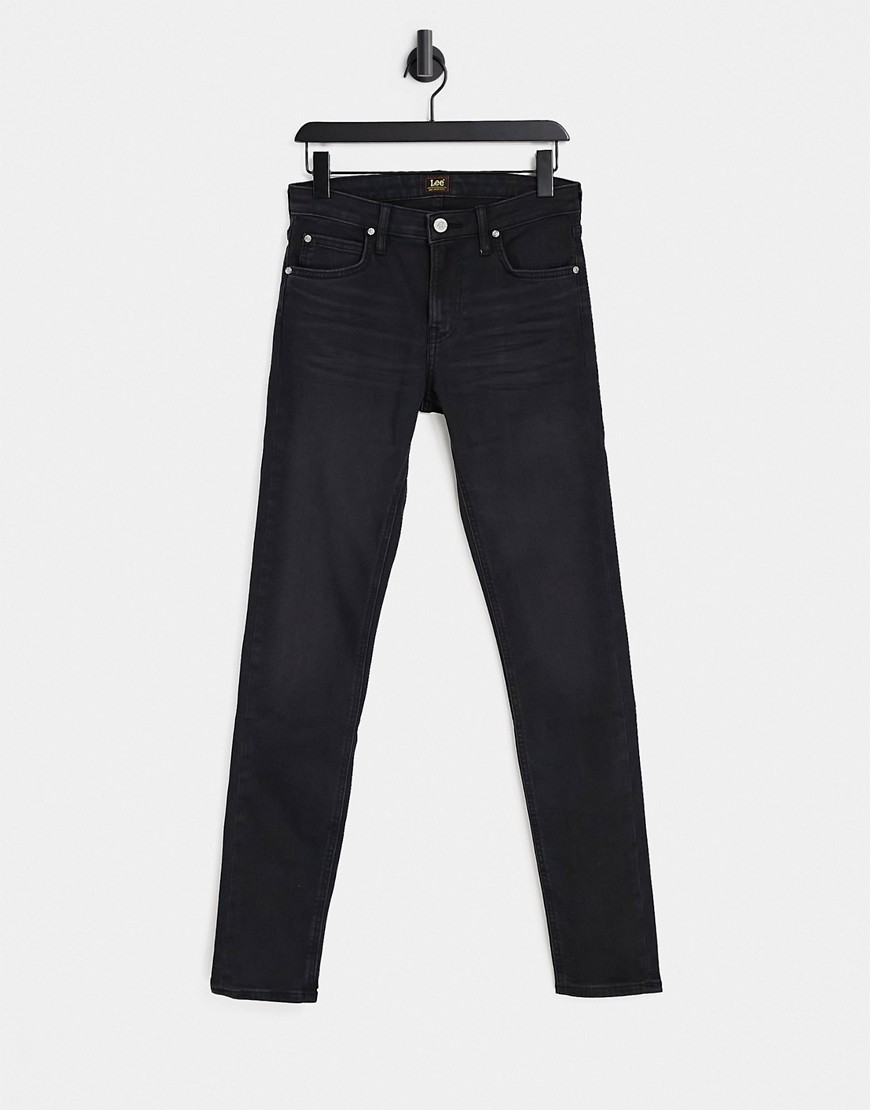 Lee Malone skinny fit jeans in raven black
