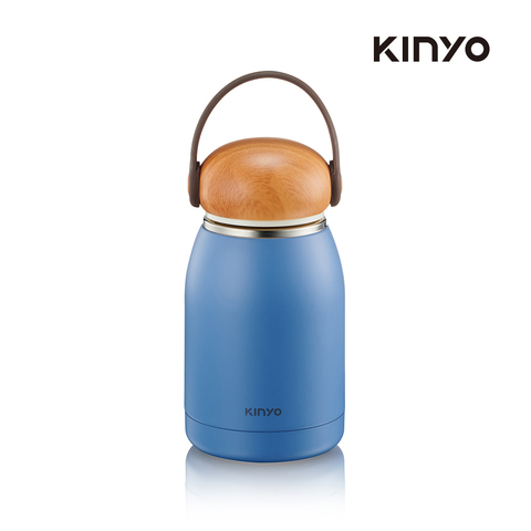 kinyo  KIM-31BU 不鏽鋼隨行保溫杯320ML-藍