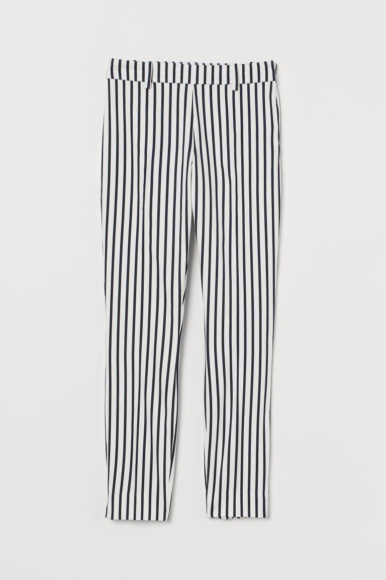 H & M - 九分褲 - 白色