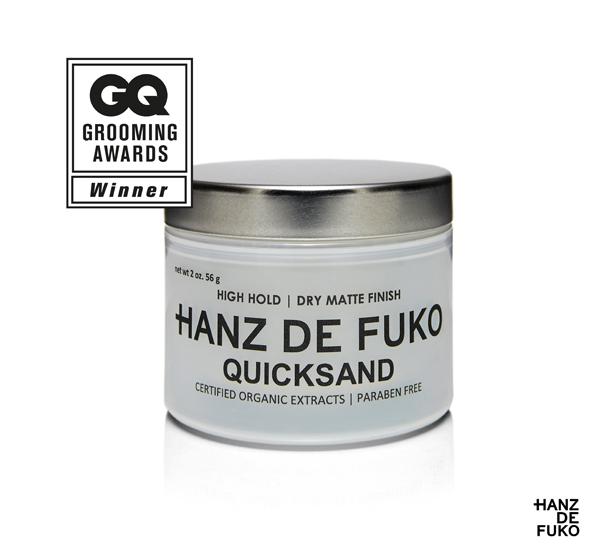 【特價】Hanz de fuko QUICKSAND Unique Powder Clay 矽藻土高層次無光澤髮泥(1.74oz)
