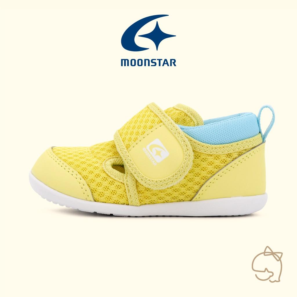 【Moonstar月星】小童快乾機能鞋(梨果黃) | 小璐朵童鞋