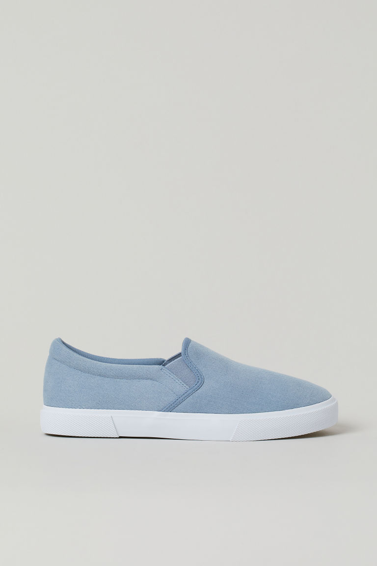H & M - 懶人鞋 - 藍色