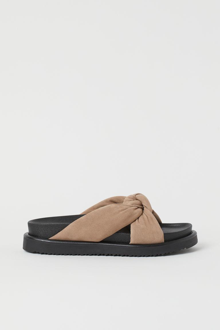 H & M - 涼鞋 - 米黃色