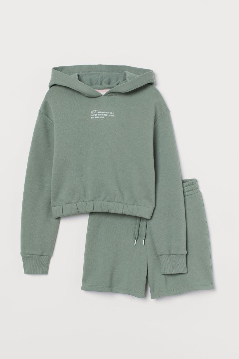 H & M - 2件組套裝 - 綠色
