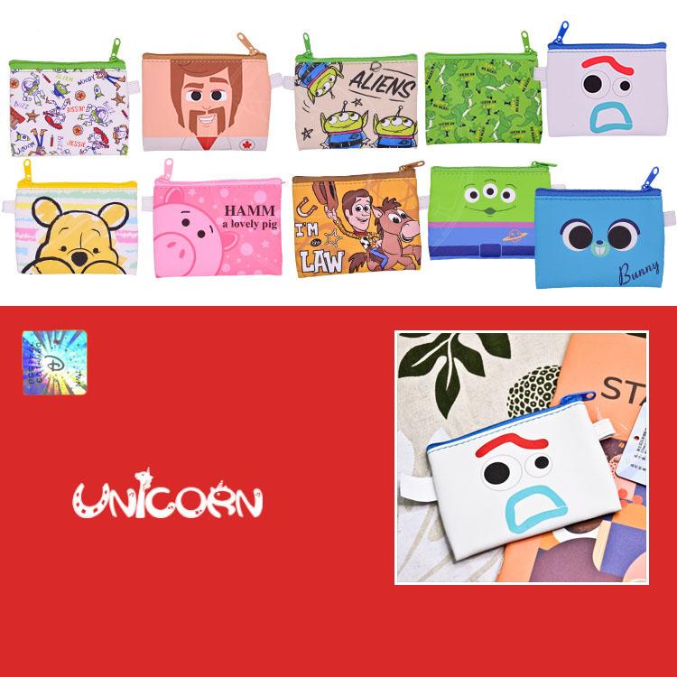 -多款-正版迪士尼PU皮革零錢包 小錢包 拉鍊錢包 小物包【AS1080916】Unicorn手機殼
