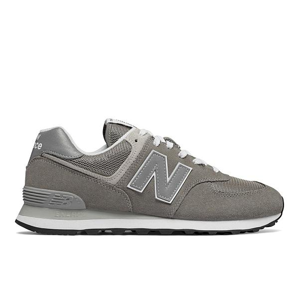 New Balance 574 男鞋 女鞋 休閒 基本款 復古 麂皮 灰【運動世界】ML574EGG