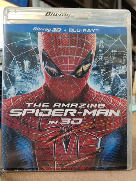 挖寶二手片-0Q01-163-正版藍光BD【蜘蛛人:驚奇再起 3D+2D雙碟限定版】-熱門電影 MARVEL(直購價)