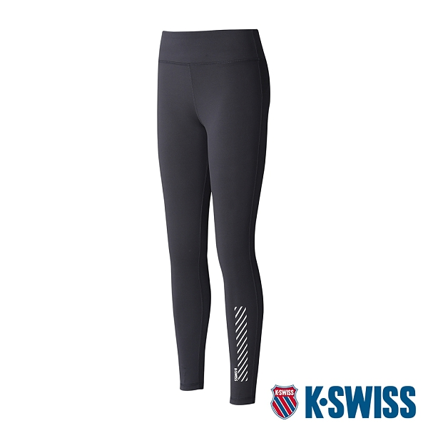 【超取】K-SWISS KS Legging運動緊身褲-女-黑