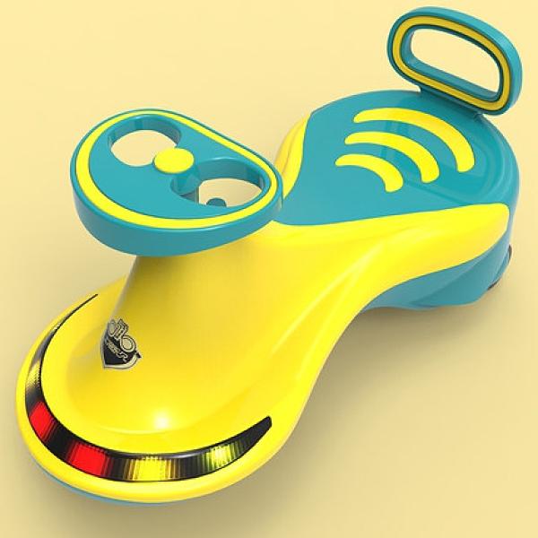 永久兒童扭扭車靜音萬向輪寶寶防側翻可坐滑滑溜溜搖擺滑行妞妞車 青木鋪子「快速出貨」