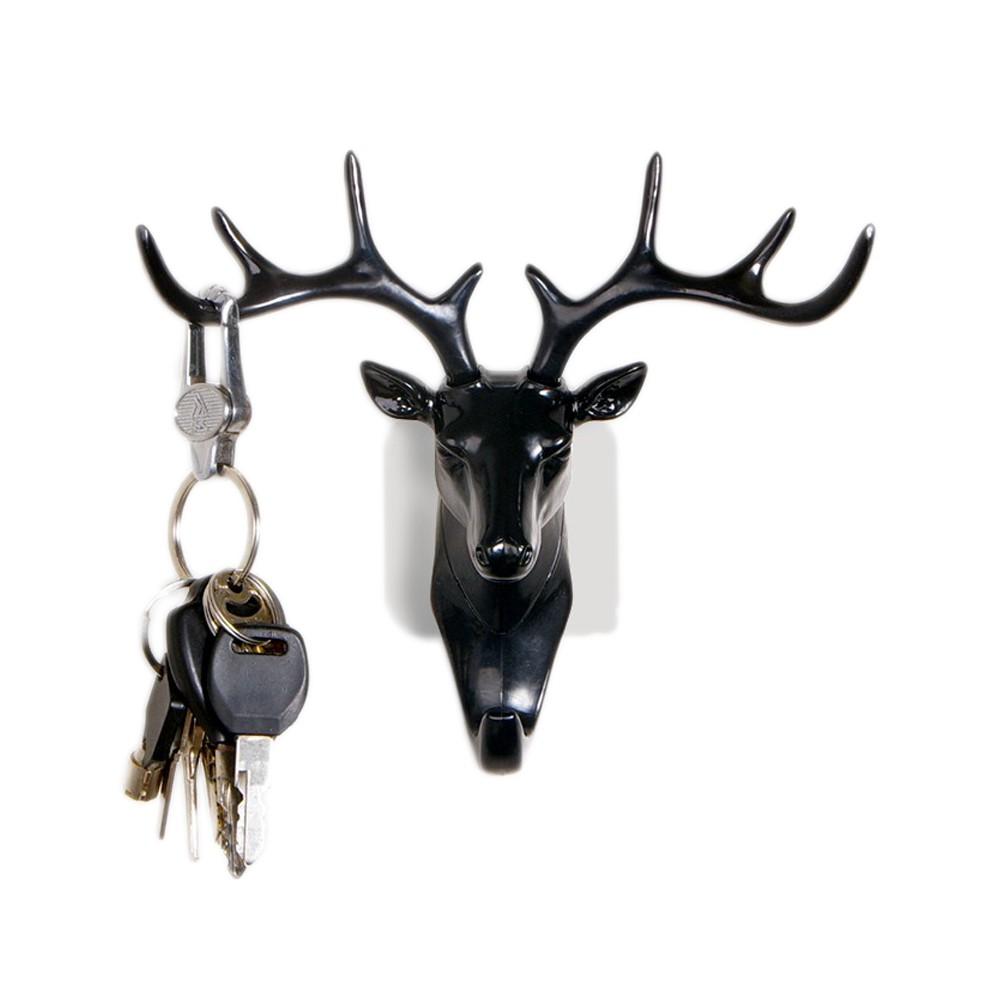 造型鹿無痕鑰匙掛勾【寵一下】