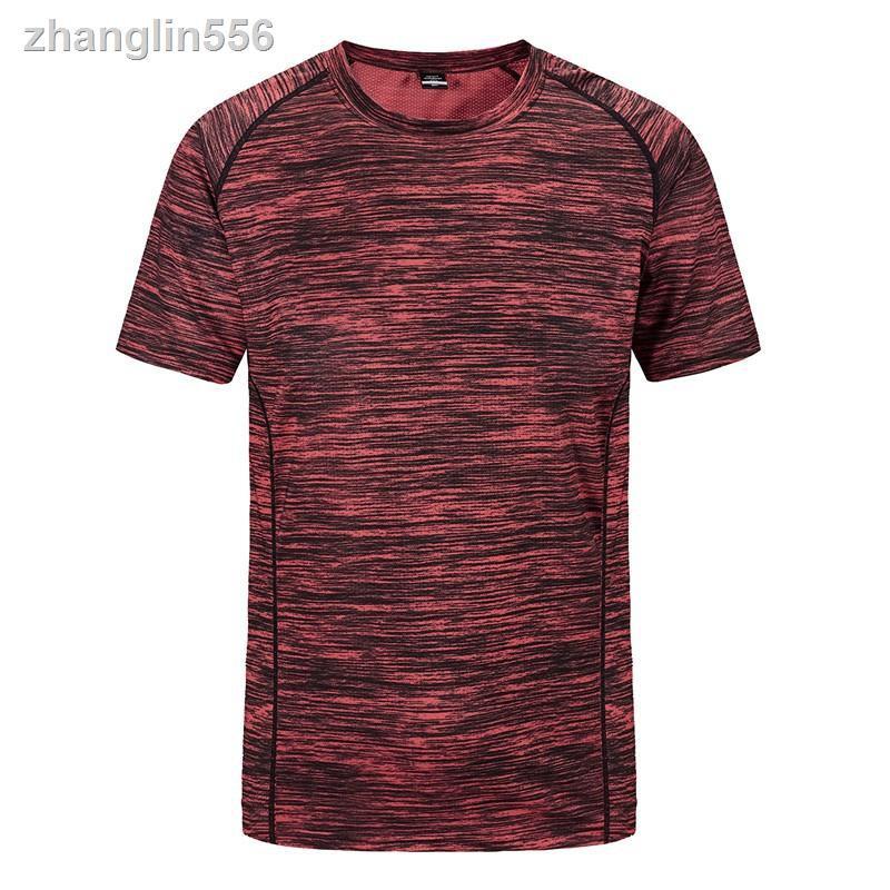 ▧☜♠L-8XL大尺碼 排汗機能短袖運動衫 超彈力透氣 機能衣 排汗衫 健身 涼感衣 緊身衣 T恤 情侶短袖 排汗衣 運