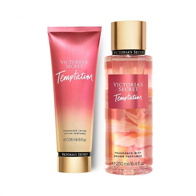 Victoria's Secret維多利亞的秘密-花舞輕盈身體乳液236ml+身體噴霧250ml