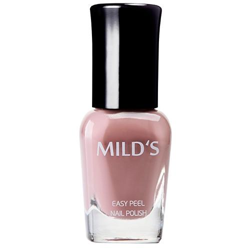《MILD'S曼思》水性可剝健康指彩─玫瑰棕MS132