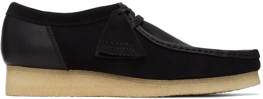 Clarks Originals 黑色 Wallabee 2 CLR 莫卡辛鞋