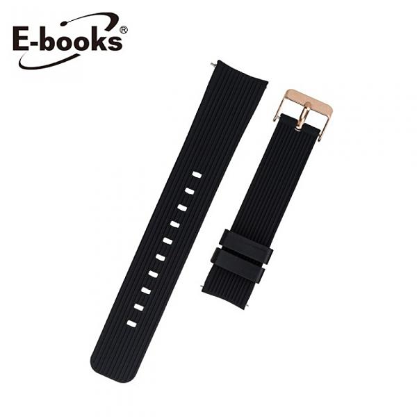【E-books】VA1 快拆錶帶 20mm 通用款 黑色