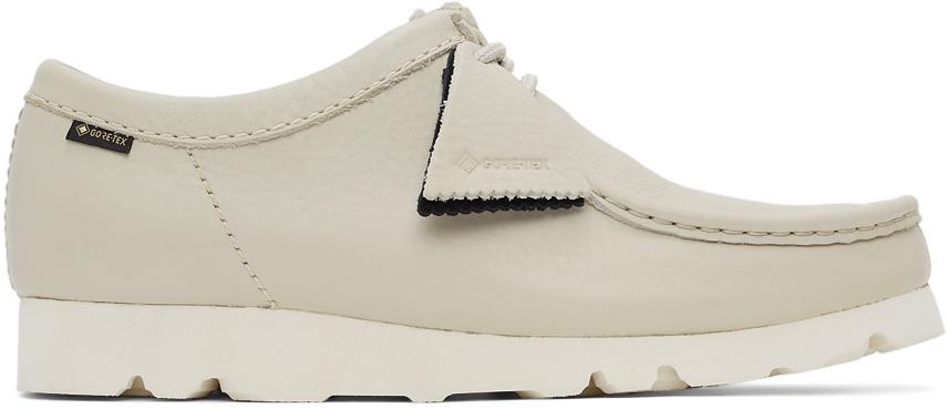 Clarks Originals 灰色 Wallabee 莫卡辛鞋