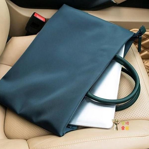 公文包 男士包包手提包商務包橫款韓版手拿休閒包大容量公文包男電腦包潮