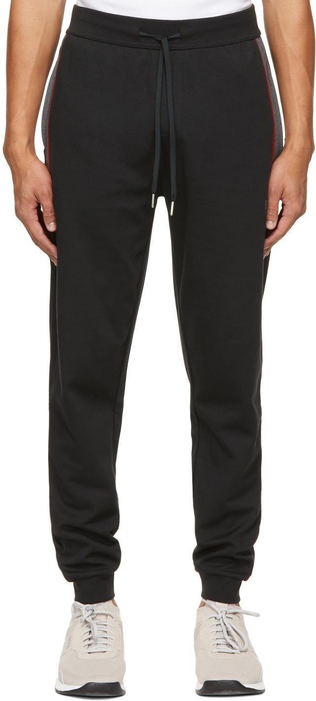 BOSS 黑色 Tracksuit 运动裤
