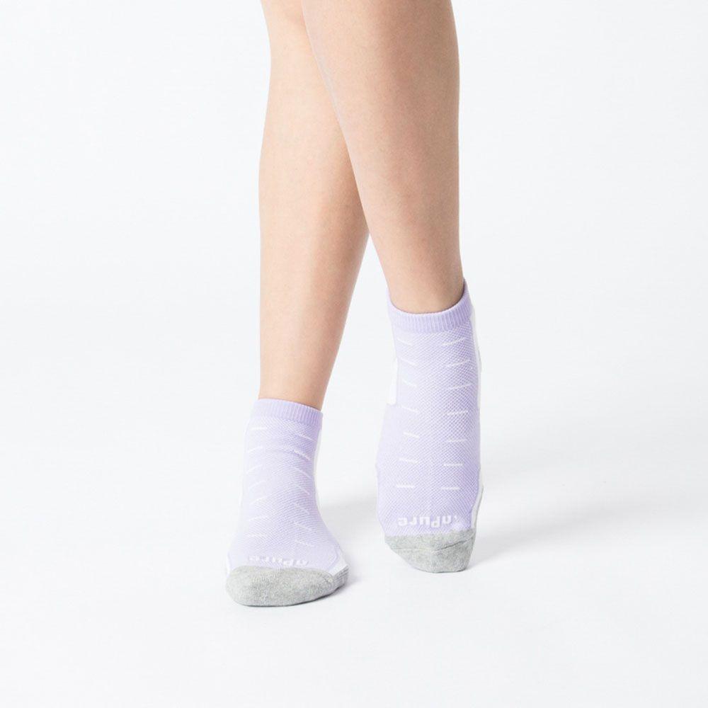 【M號】多功科技運動襪-紫色 (商品編號:S0100771)