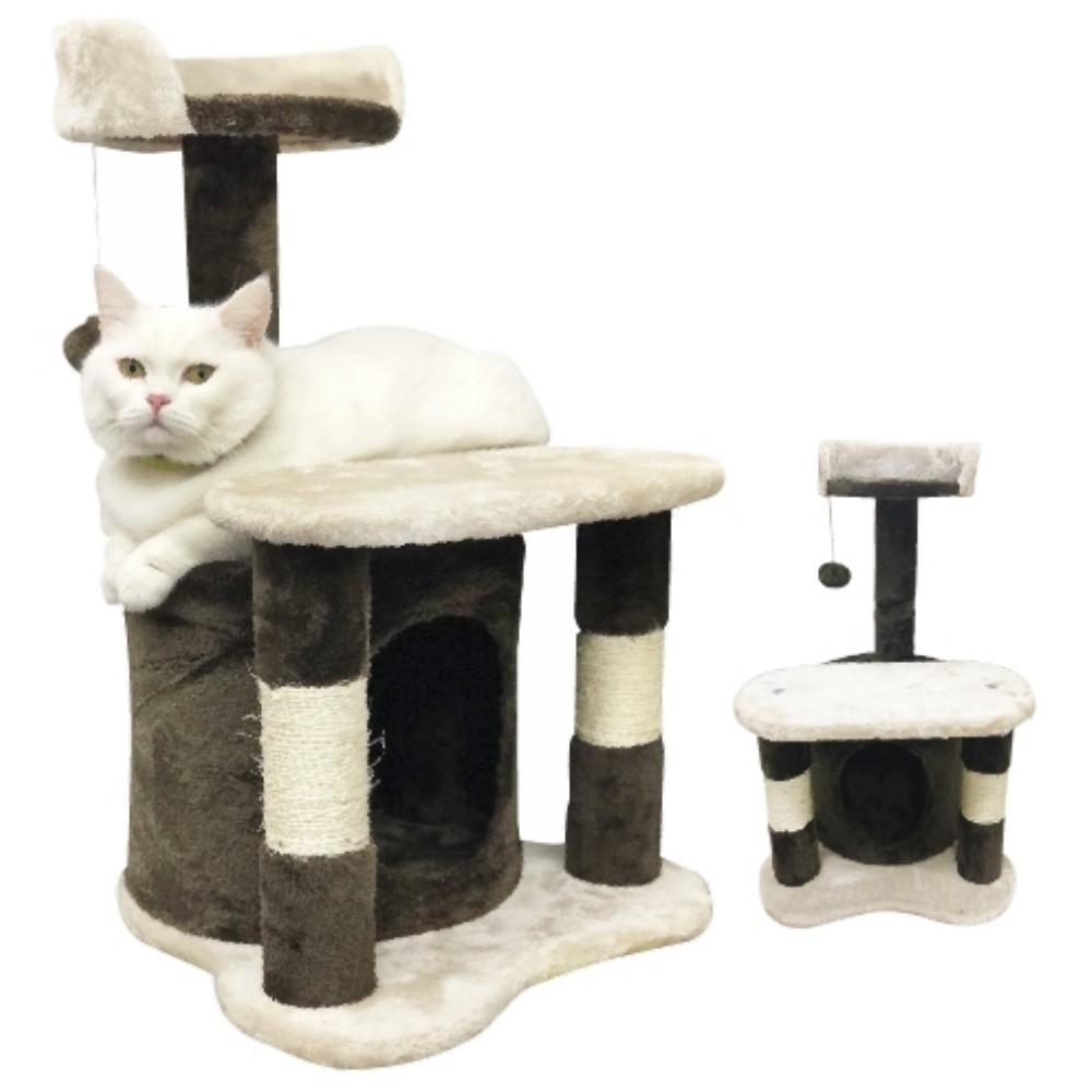 寵喵樂 提拉米蘇造型貓跳台TW025 貓跳台/貓爬窩/貓抓柱『WANG』