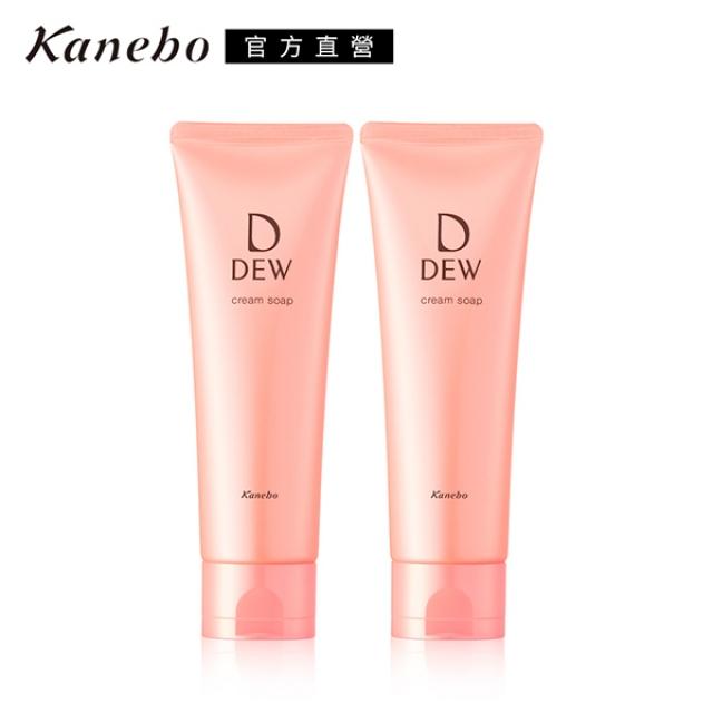 【Kanebo 佳麗寶】DEW水潤洗顏皂霜1+1破盤組