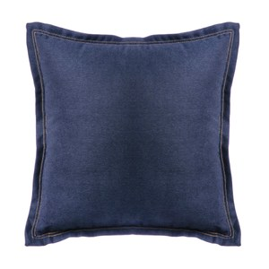 HOLA 素色雅沐仿棉抱枕50x50CM-軍藍