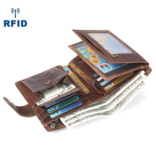 豎款韓版男錢包 簡約復古皮夾男生卡包商務短夾 男士百搭男款多卡位錢夾 零錢包男士短款錢包