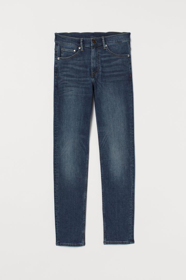 H & M - Freefit® 貼身牛仔褲 - 藍色