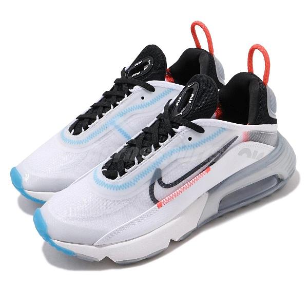 Nike 休閒鞋 Wmns Air Max 2090 白 黑 女鞋 氣墊 半透明鞋面設計 全新鞋款 運動鞋 【ACS】 CT7698-100