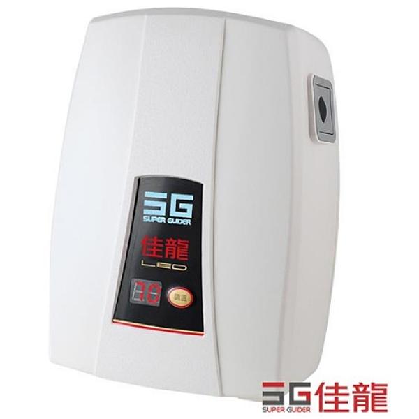 (全省安裝)佳龍即熱式瞬熱式電熱水器LED顯溫度精準控溫熱水器內附漏電斷路器系列LED-88-LB