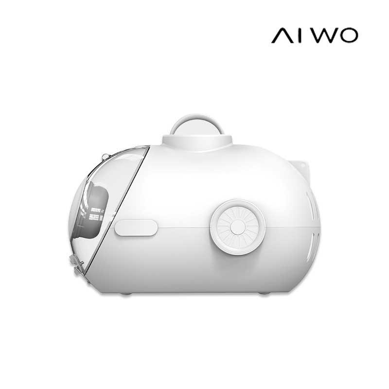 AIWO 單肩透明潛水艙外出包 外出包 貓窩 兩用包 貓用 小型犬 外出提龍 睡窩