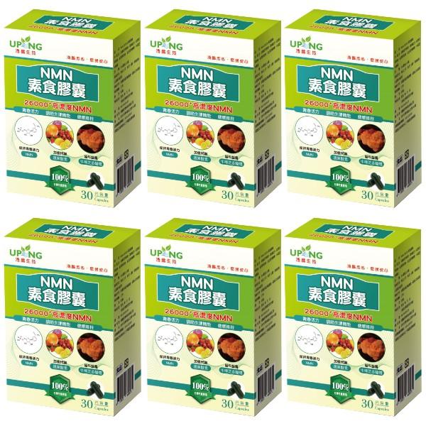 湧鵬生技-NMN素食膠囊(30粒X6盒)