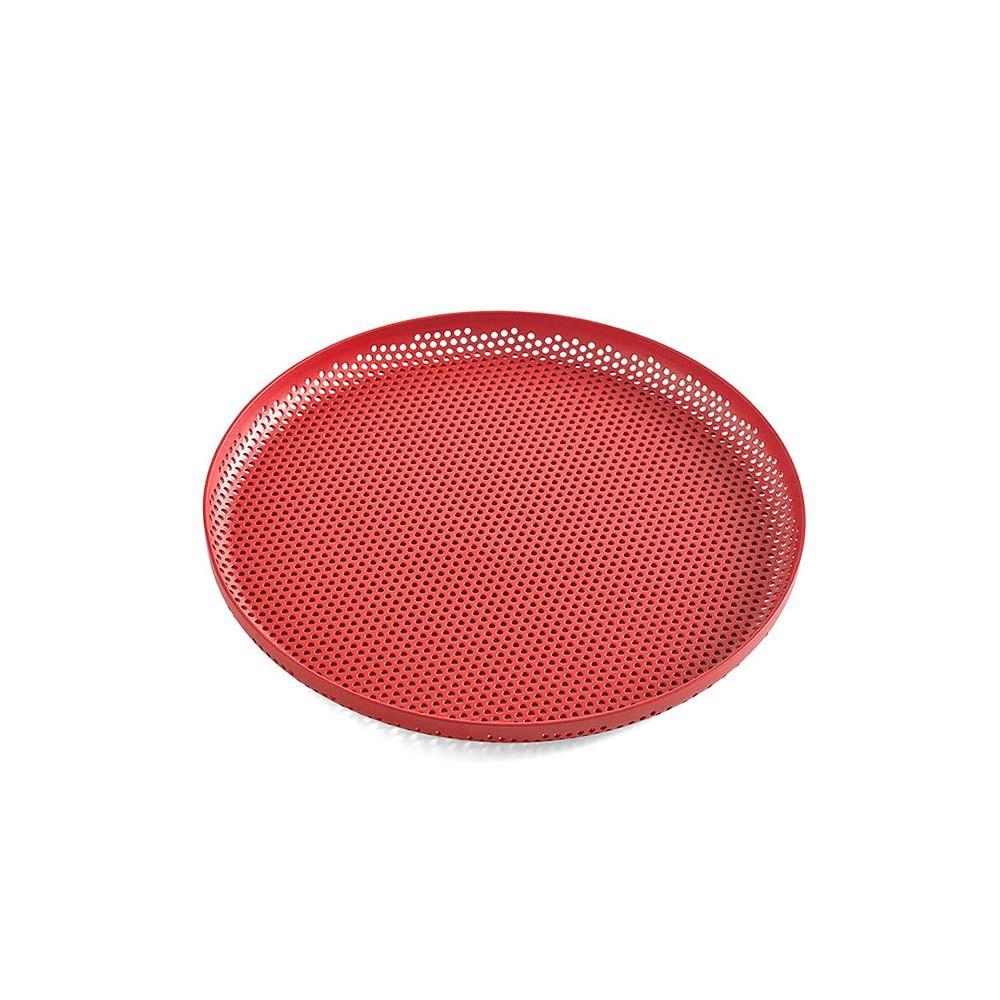 【丹麥HAY】洞洞圓形托盤M - 共2色 《泡泡生活》收納盤 居家整理 置物架