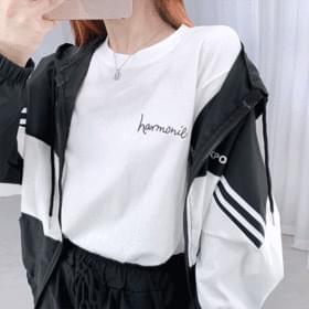 韓國空運 - Harmony Basic Short Sleeve Tee 短袖上衣
