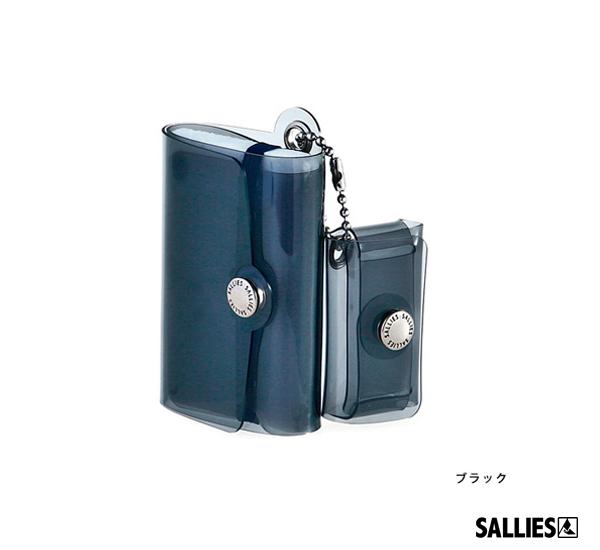 SALLIES Minimal Wallet PocketPal透視感迷你錢包(黑)