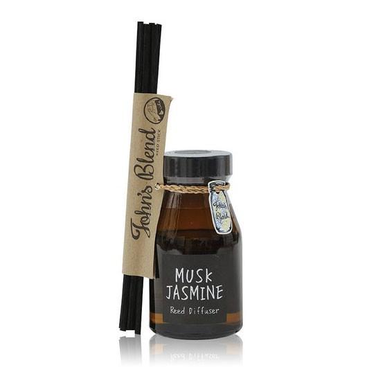 日本 John′s Blend MUSK JASMINE 麝香茉莉 紓壓芳香 擴香瓶 (140ml) 化學原宿
