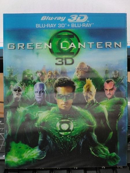 挖寶二手片-0Q01-147-正版藍光BD【綠光戰警 3D+2D雙碟版 附外紙盒】-熱門電影(直購價)