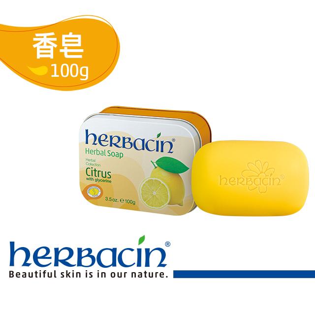 小甘菊檸檬淨白亮膚皂100g+精裝鐵盒
