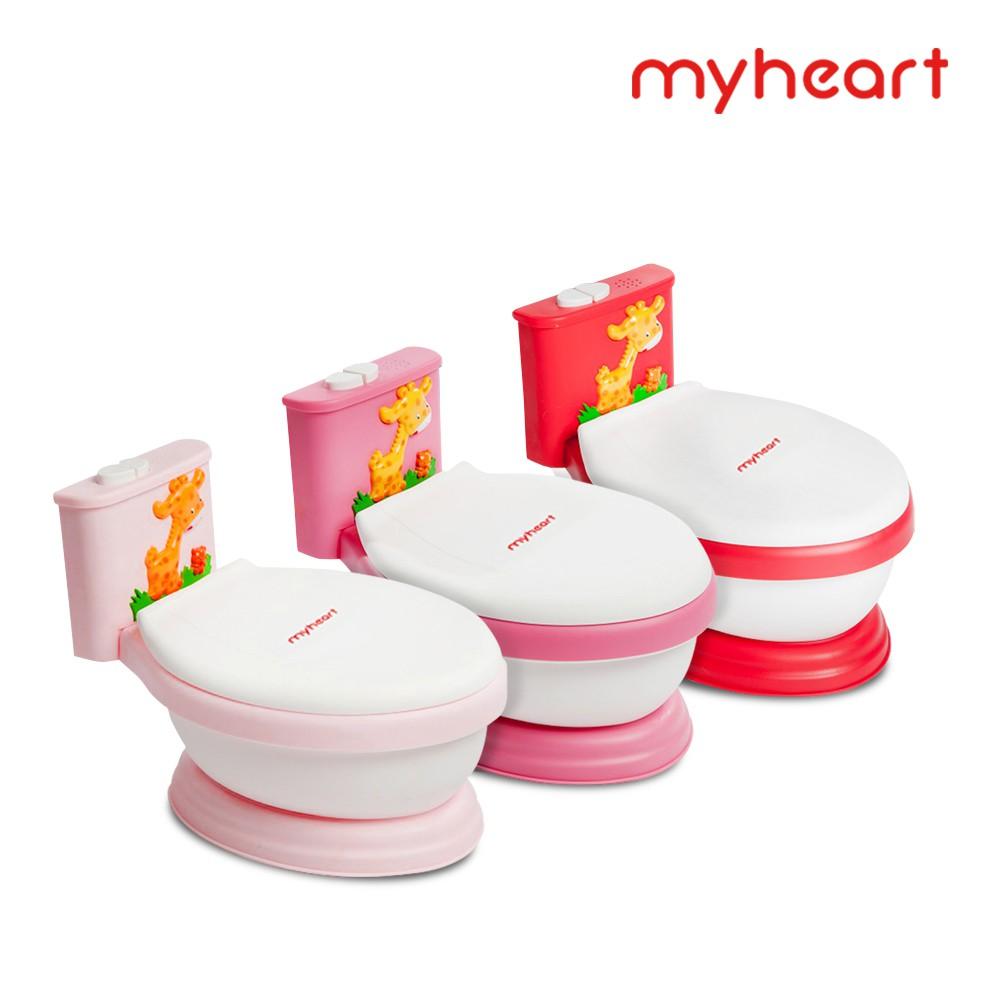 【myheart】音樂兒童馬桶 兒童馬桶 學習馬桶 全新總代理公司貨(含運) 現貨