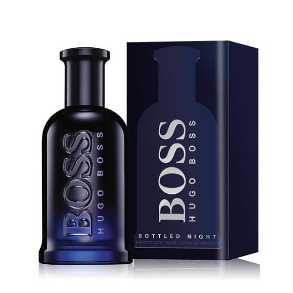 HUGO BOSS Bottled Night 自信之夜男性淡香水(50ml)-公司貨
