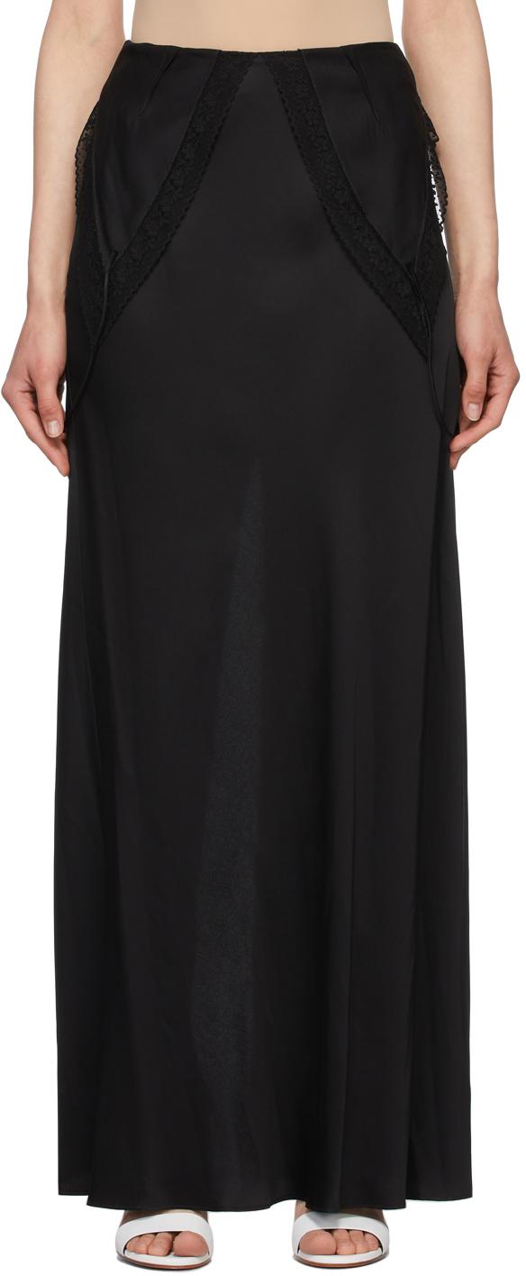 MM6 Maison Margiela 黑色 Lining Look 半身裙