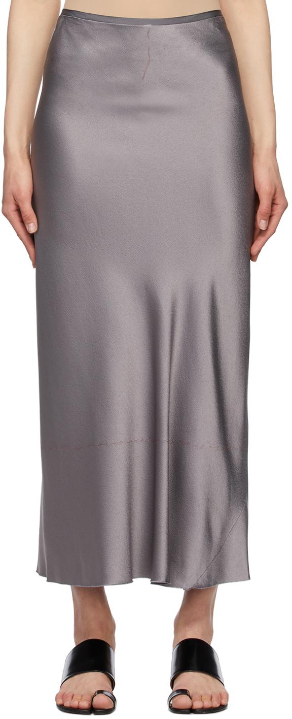 Maison Margiela 灰色 Classic 半身裙