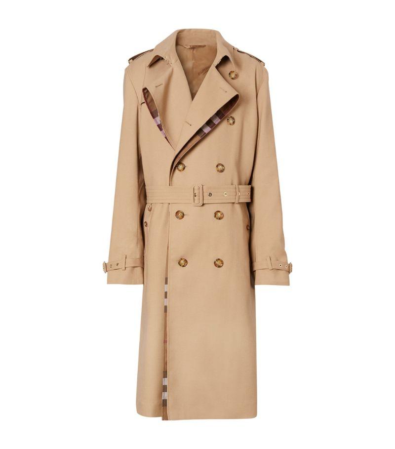 Burberry Wool-Silk Trench Coat